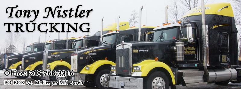 USA trucking company trucks